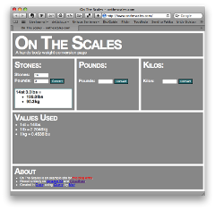 OnTheScales