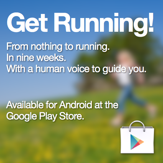 Get Running for Android Advert