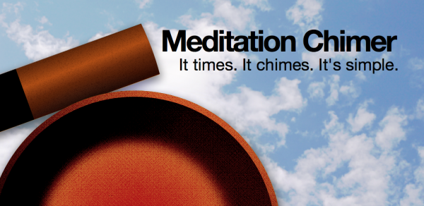 Meditation Chimer. It times. It chimes. It's simple.